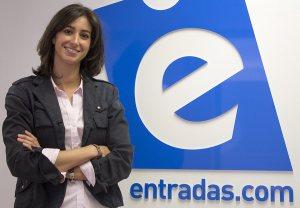María Fanjul CEO de Entradas.com