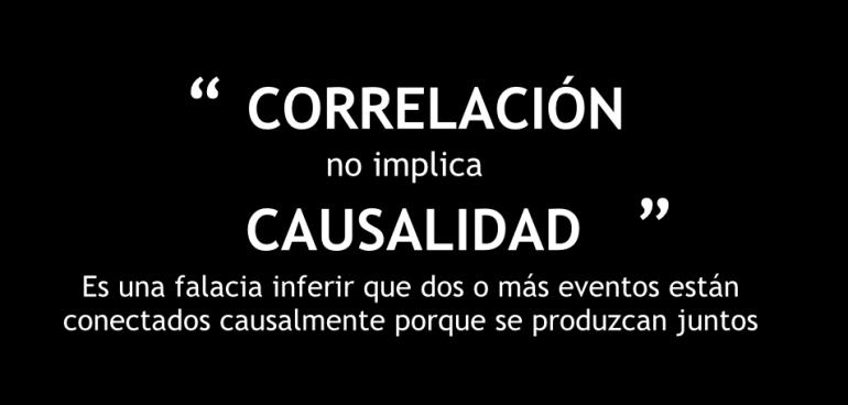 Correlación No implica Causalidad
