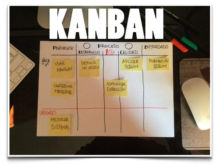 Primera Aproximación de tablero kanban