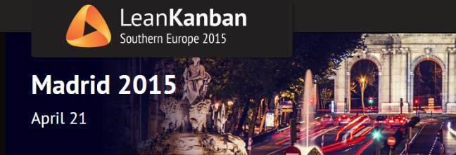 Conferencia Lean Kanban SE Madrid 2015