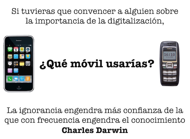 """""""La ignorancia engendra más confianza de la que con frecuencia engendra el conocimiento."""" Charles Darwin"""