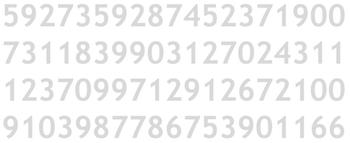 Ejemplo de Atributo preatentivo (1) : Color