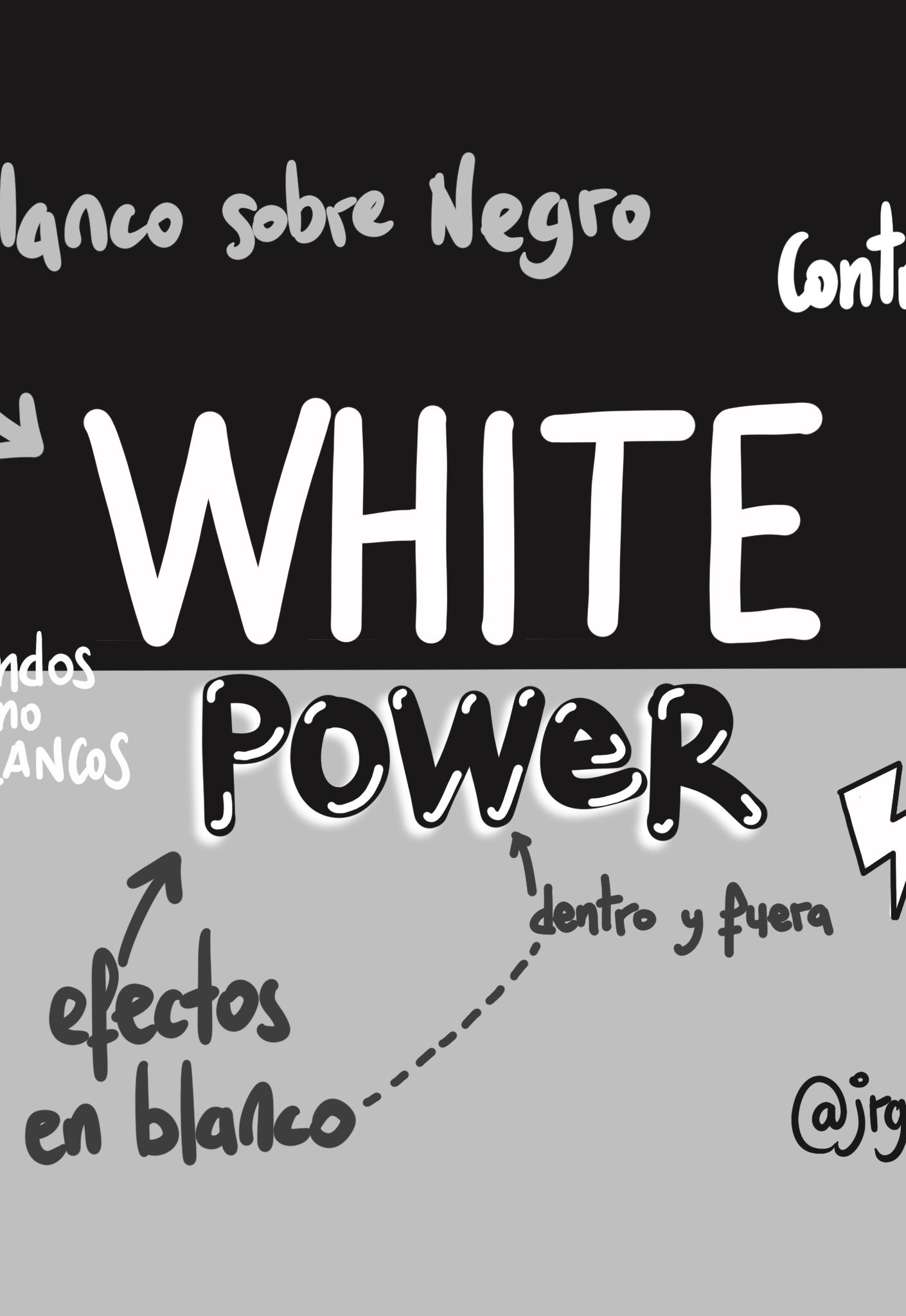 White Power en el diseño
